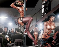 Filthy gangster forced his slave babes - BDSM Art Collection - Pic 1