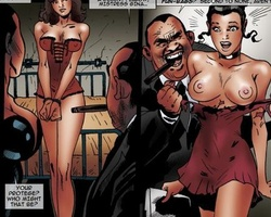 Filthy gangster forced his slave babes - BDSM Art Collection - Pic 2