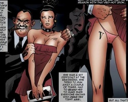 Filthy gangster forced his slave babes - BDSM Art Collection - Pic 3