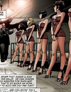 Filthy gangster forced his slave babes to please…