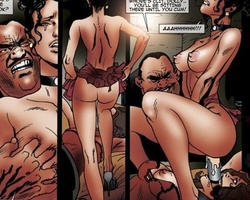 Filthy gangster forced his slave babes - BDSM Art Collection - Pic 6