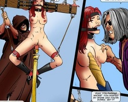 Enslaved pretty women gonna be fucked - BDSM Art Collection - Pic 3