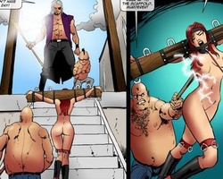 Enslaved pretty women gonna be fucked - BDSM Art Collection - Pic 5