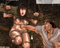 Chinese enslaved beauty gets banged - BDSM Art Collection - Pic 2