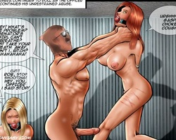 Blonde and redhead slave babes get - BDSM Art Collection - Pic 4