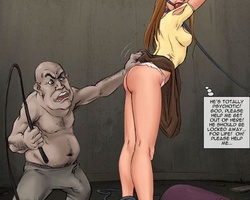 Brunette bimbo gets captured and - BDSM Art Collection - Pic 2