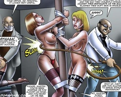 Perfect body slave beauties forced to - BDSM Art Collection - Pic 2