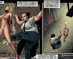 Poor blonde beauty gets captured and - BDSM Art Collection - Pic 3