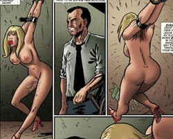 Poor blonde beauty gets captured and - BDSM Art Collection - Pic 6