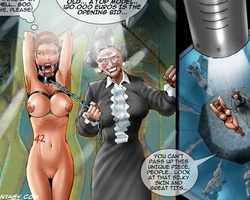 Naked busty slaves get fucked bu their - BDSM Art Collection - Pic 1