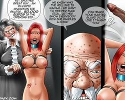 Naked busty slaves get fucked bu their - BDSM Art Collection - Pic 2