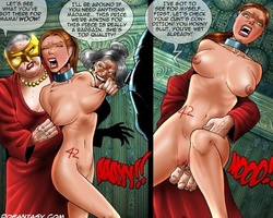 Naked busty slaves get fucked bu their - BDSM Art Collection - Pic 6