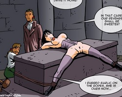 Poor young slave chick gets her tight - BDSM Art Collection - Pic 1