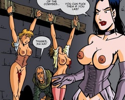 Poor young slave chick gets her tight - BDSM Art Collection - Pic 5