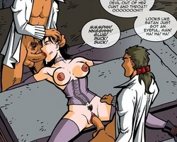 Poor young slave chick gets her tight - BDSM Art Collection - Pic 6