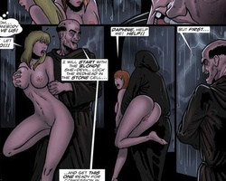 Sex hugnry perverted monks captured and - BDSM Art Collection - Pic 5