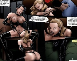 Latex dressed blonde slave get her body - BDSM Art Collection - Pic 4