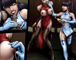 Latex dressed blonde slave get her body - BDSM Art Collection - Pic 6