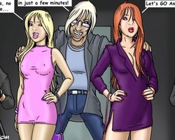 Two sexy beauties get enslaved and - BDSM Art Collection - Pic 1