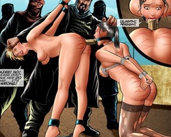 Perfect body white slave girl used as - BDSM Art Collection - Pic 4