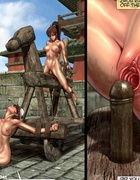 Two oriental slave chicks humiliated outdoors and…