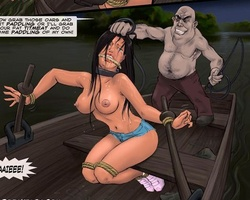 Two busty enslaved babes get fucked by - BDSM Art Collection - Pic 1