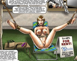 Sold as slave lovely beauty get her - BDSM Art Collection - Pic 5