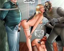 Blonde and redhead slave chicks used as - BDSM Art Collection - Pic 6