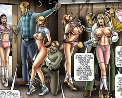 Poor slave girl used as horses and - BDSM Art Collection - Pic 5