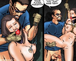 Enslaved slave chicks get abused hard - BDSM Art Collection - Pic 2