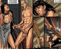 Medieval slave babes get their holes - BDSM Art Collection - Pic 4