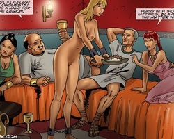 Medieval slave babes get their holes - BDSM Art Collection - Pic 5