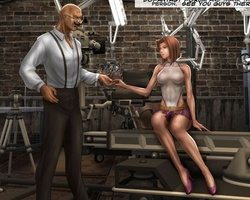 Perfect body busty secret agent found - BDSM Art Collection - Pic 1