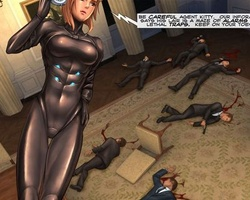 Perfect body busty secret agent found - BDSM Art Collection - Pic 4