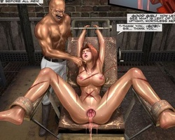 Awesome brunette secret agent gets - BDSM Art Collection - Pic 5