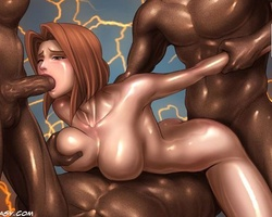 Awesome brunette secret agent gets - BDSM Art Collection - Pic 6