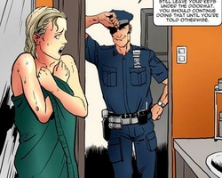 Enslaved in police department sexy - BDSM Art Collection - Pic 1