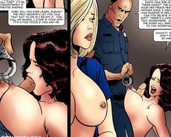 Enslaved in police department sexy - BDSM Art Collection - Pic 4