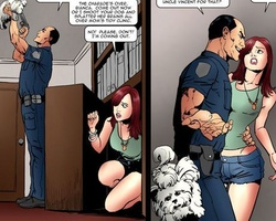 Enslaved in police department sexy - BDSM Art Collection - Pic 5