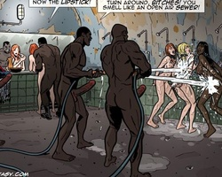 White sexy slave babes used as fuck - BDSM Art Collection - Pic 3