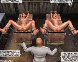 Big boobed slave babes get their - BDSM Art Collection - Pic 3