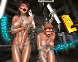 Big boobed slave babes get their - BDSM Art Collection - Pic 5