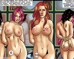 Captured sexy shaped beauties gonna be - BDSM Art Collection - Pic 6