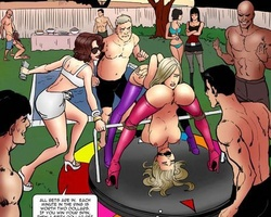 Stunning slave babes are just sex - BDSM Art Collection - Pic 3
