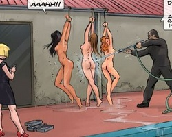 Caught after escaping slave babe - BDSM Art Collection - Pic 2
