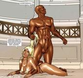 Stunning blonde roman slave gets her twat plowed hard. Tags: Hardcore,