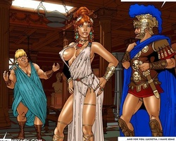 Roman sexy slaves getting their tight - BDSM Art Collection - Pic 4