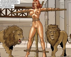 Roman sexy slaves getting their tight - BDSM Art Collection - Pic 6