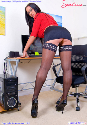 Big Boobed office beauty in exclusive st - XXX Dessert - Picture 3