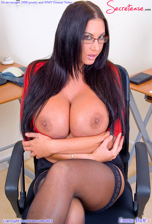 Big Boobed office beauty in exclusive st - XXX Dessert - Picture 7
